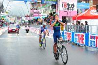 Andrey Amador devient le premier Costa Ricain vainqueur sur le Giro
