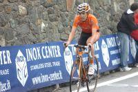 Mikel Nieve se montre vers Cervinia