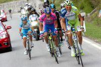 Ivan Basso fait la sélection dans le Passo Giau