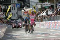 Rodriguez s'offre sa deuxième victoire d'étape sur ce Giro