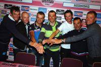 Les têtes d'affiche du Giro 2012 prêtes à s'expliquer