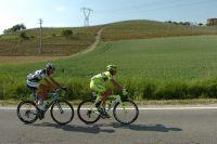 Deux échappés sur les routes italiennes