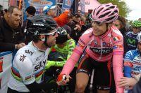 Mark Cavendish et Taylor Phinney, premiers acteurs du Giro 2012