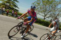 Adriano Malori en route pour le maillot rose