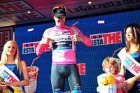 A Rocca di Cambio, le Giro hérite d'un nouveau Maillot Rose : Ryder Hesjedal