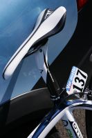 La toute nouvelle Selle Italia SLR C64 Carbone sur les vélos Movistar
