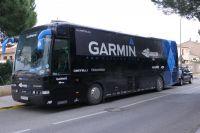 Le bus Garmin-Barracuda