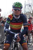 Le champion d'Espagne José-Joaquin Rojas du Movistar Team
