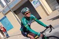 Le coureur espagnol de l'équipe Continentale Caja Rural