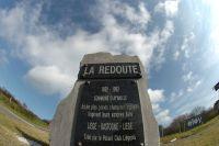 La stèle de la Redoute