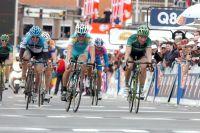 Précédé par Enrico Gasparotto, Thomas Voeckler manque de peu le podium de Liège-Bastogne-Liège