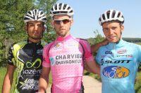 Les Lozériens victorieux, Robin Defever, Damien Albaret et Jean-Baptiste Trauchessec