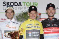 Le podium du Tour de Luxembourg
