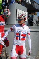 Le maillot de champion de Norvège d' Alexander Kristoff