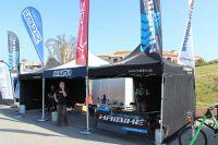 Le stand de Marseille VTT Passion Haibike