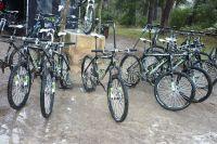 Le parc de vélos