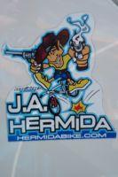 Les décos à l'effigie de Jose Antonio Hermida