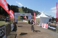 L'arrivée victorieuse de Frédéric Frech sur le 55 km de l'Oxygen Challenge