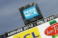 L'arrivée finale de l'édition 2012 se fait au sommet du col d'Eze