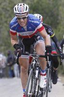 Sylvain Chavanel à la peine dans la montée vers Mende