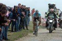 Sur les pavés de Mons-en-Pévèle, Tom Boonen part à l'assaut d'un quatrième Paris-Roubaix