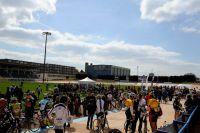 Que de monde sur le mythique vélodrome de Roubaix