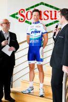 Julien Simon toujours souriant