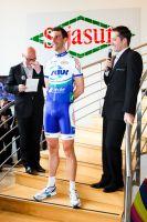 Laurent Mangel et son 1,95 mètre impressionne !