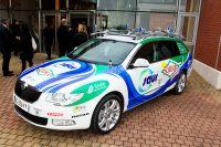 Skoda sera un peu plus présent dans le peloton cycliste 2012 avec Saur-Sojasun