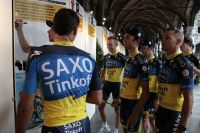 Le Team Saxo Bank-Tinkoff Bank dévoile son nouveau maillot
