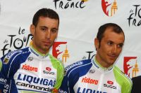 Vincenzo Nibali et Ivan Basso