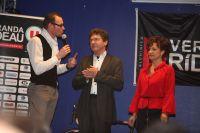 Nicolas Lebreton anime la soirée en compagnie de Mr et Mme Rideau