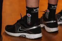 Des chaussettes Véranda Rideau-U bien entendu !