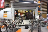 Le stand KTM