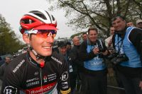 Andy Schleck souriant