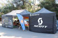 Le stand du team Scott-Les Saisies