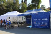 Le stand Aix VTT Thrifty