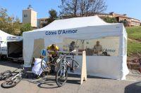 Le stand Côtes d'Armor VTT