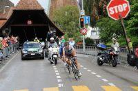 L'échappée conduite par Guillaume Bonnafond n'aura pas à marquer le stop