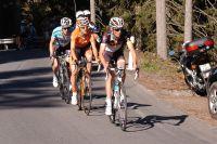 Frank Schleck passe à l'attaque au Tour de Suisse, Mikel Nieve et Levi Leipheimer lui collent au train