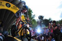 Bradley Wiggins part à la conquête du Tour de France