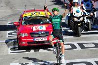 Après l'Alpe d'Huez, Pierre Rolland est vainqueur à La Toussuire