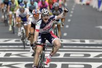 Andre Greipel dresse un poing victorieux