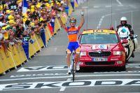 A Foix, Luis-Leon Sanchez s'adjuge sa quatrième étape du Tour