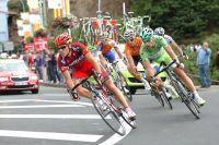 Philippe Gilbert et Peter Sagan emmènent la bonne échappée, Luis-Leon Sanchez attend son heure