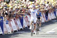 A Pau, Pierrick Fédrigo retrouve la victoire dans le Tour