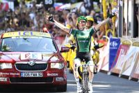 Comme en 2010, Thomas Voeckler arrive vainqueur à Bagnères-de-Luchon