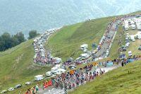 Le Tour de France en montagne