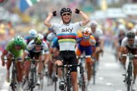Mark Cavendish reprend confiance en sa pointe de vitesse
