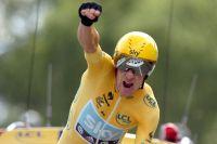 A Chartres, Bradley Wiggins assure sa victoire dans le Tour de France